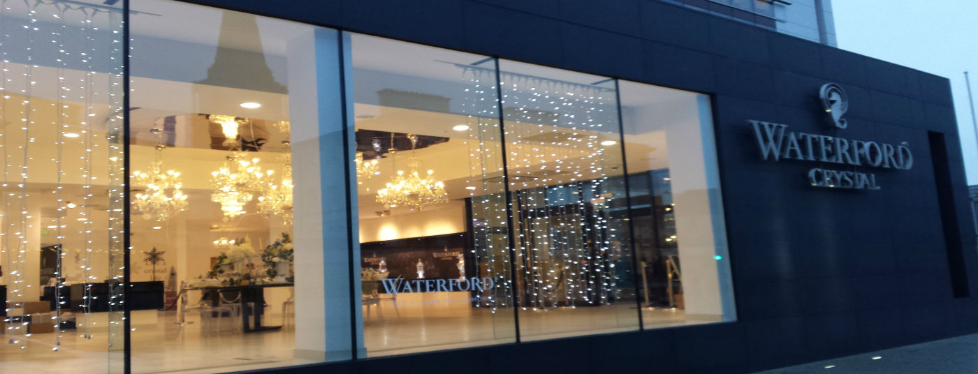 located beside the house of waterford crystal